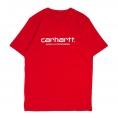 CARHARTT T-SHIRT  script red