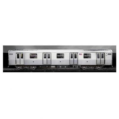 3D poster Molotow Train i NY