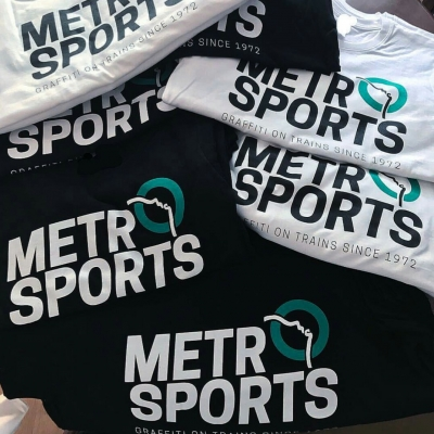 t-shirt: metro sports