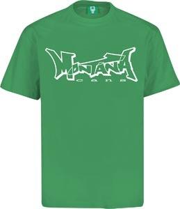 montana cans t-shirt green