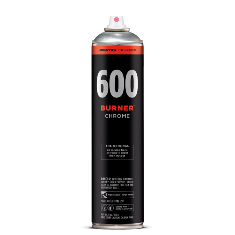 MOLOTOW BURNER Chrom 600 ML