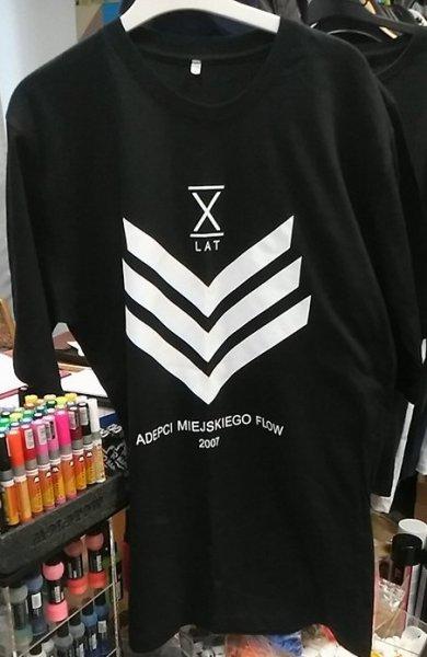 """T-shirt """"adepci miejskiego flow"""""""