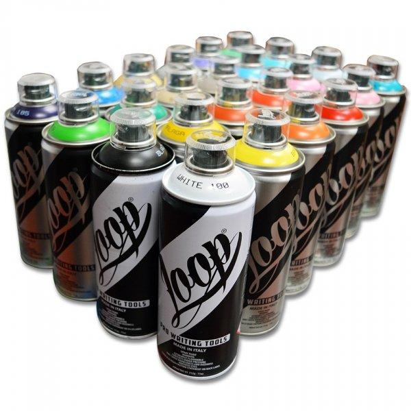 box 24szt x LOOP colors 400ML