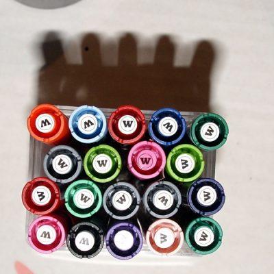 BOX 19szt x Molotow Marker 127HS 2m