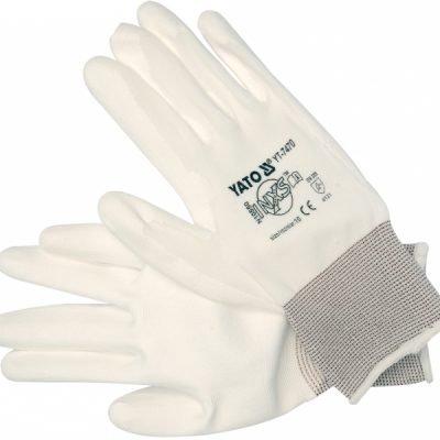 Rękawice białe L