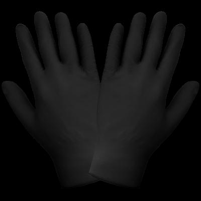 Rękawiczki nitrylowe czarne 1szt