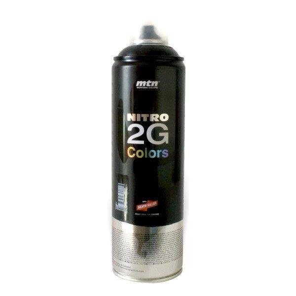 MTN Montana Nitro 2G Spray 500ml black