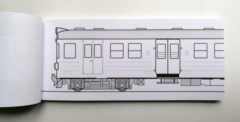happy TRAIN en57 black book