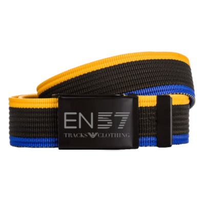 Tracks clth EN57 pasek yellow/black/blue