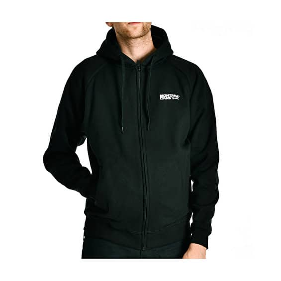 Montana Logo Zip Hood Black L