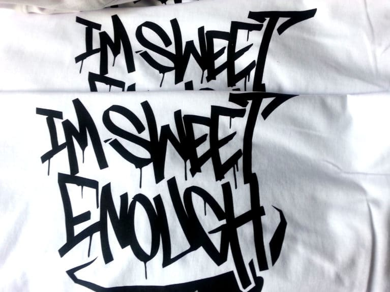 """Bluza """" I'm sweet enough """""""