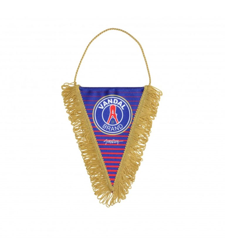 From Paris With Love - PENNANT - Triangle vandal