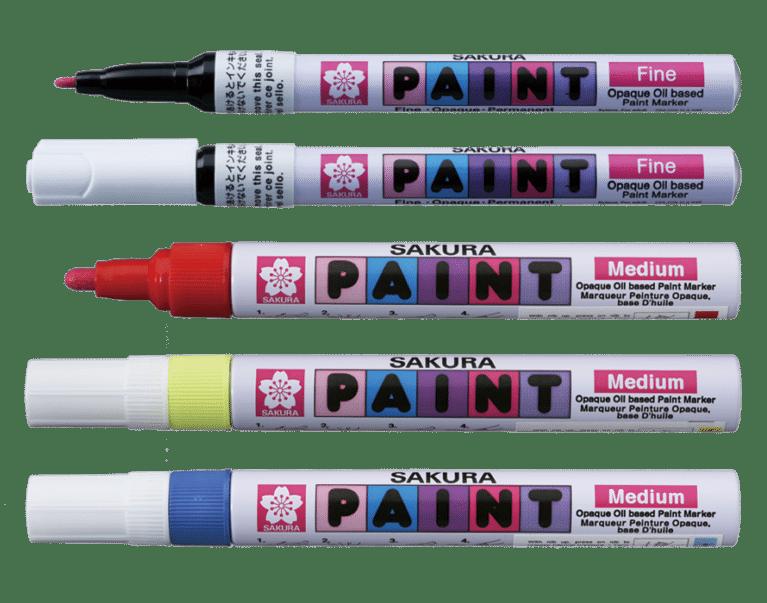 SAKURA PAINT PMK-B black oil
