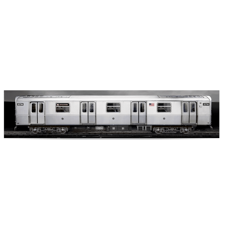 3D poster NYC Train 65 x 15 cm