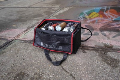 18 pack spray can bag mr serious