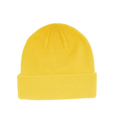 Yellow super fat beanie mr. serious