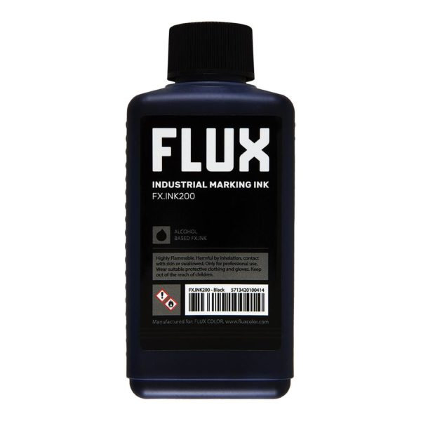 FLUX Industrial Marking Ink FX.INK200, 200Refill